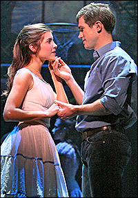 <I>West Side Story</I> stars Josefina Scaglione and Matt Cavenaugh