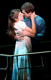<I>West Side Story</I> stars Josefina Scaglione and Matt Cavenaugh.