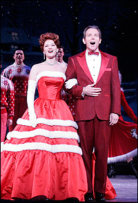 Kerry O'Malley and Stephen Bogardus in <I>White Christmas.</I>