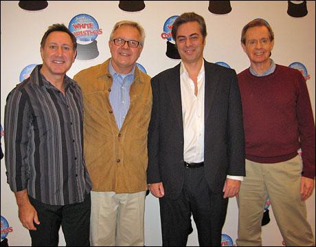 Musical director Steven Freeman, director Walter Bobbie, producer John Gore and choreographer Randy Skinner