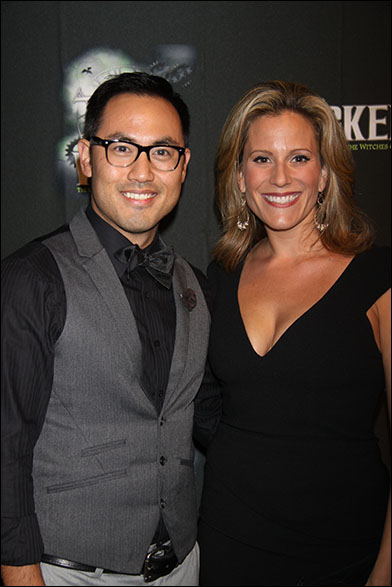 Marcus Choi and Kristy Cates