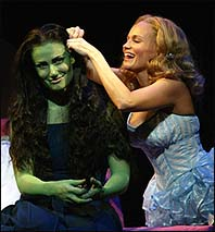 OCC Award-Winning Musical <i>Wicked</i> (nominees Idina Menzel and Kristin Chenoweth).