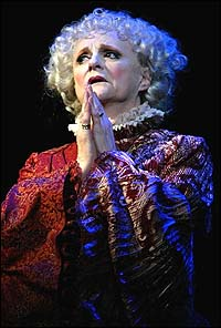 Carole Shelley in <I>Wicked</I>