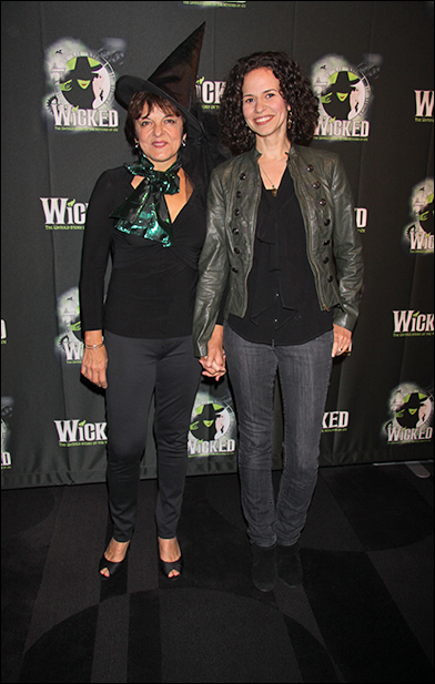 Priscilla Lopez and Mandy Gonzalez