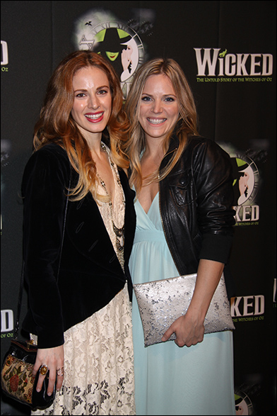 Teal Wicks and Katie Rose Clarke