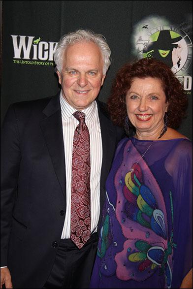 PJ Benjamin and wife