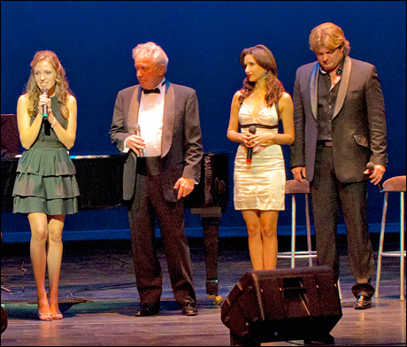Laura Osnes, Jack Murphy, Marlyn Sanchez and Rob Evan