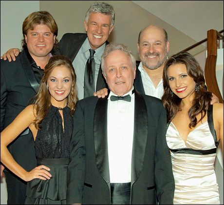 Top: Rob Evan, Michael Donald Edwards and Frank Wildhorn