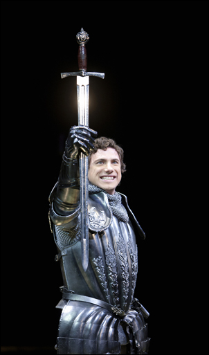 Jonathan Winsby in Camelot