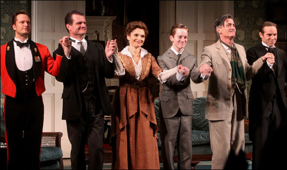 Chandler Williams, Michael Cumpsty, Mary Elizabeth Mastrantonio, Spencer Davis Milford, Roger Rees and Alessandro Nivola