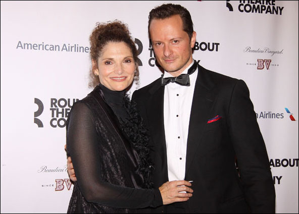 Mary Elizabeth Mastrantonio and Chandler Williams