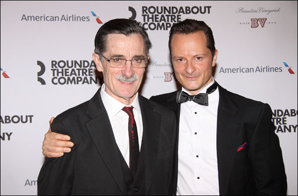 Roger Rees and Chandler Williams