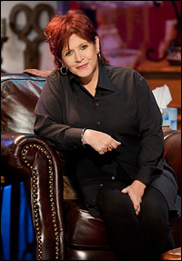 Carrie Fisher in HBO's