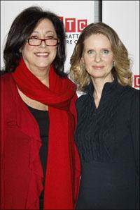Lynne Meadow and Cynthia Nixon