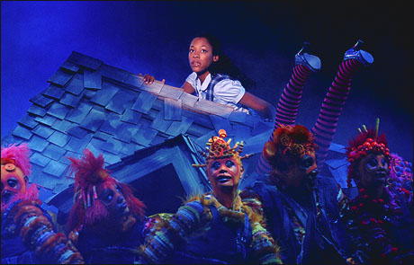 James starred as Dorothy in the 2006 La Jolla Playhouse production of The Wiz