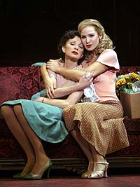 Donna Murphy (left) and Jessica Westfeldt in <i>Wonderful Town</i>