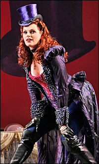 Kate Shindle as the Mad Hatter
