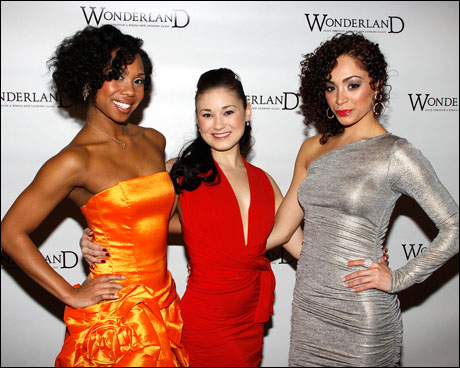 Lauren Lim Jackson, April Berry and Tanairi Sade Vazquez