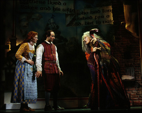Kerry O'Malley, Stephen DeRosa and Vanessa Williams in the 2002 Broadway revival