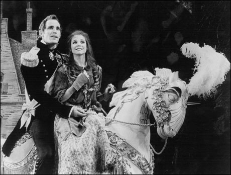 Robert Westenberg and Kim Crosby in the original Broadway production