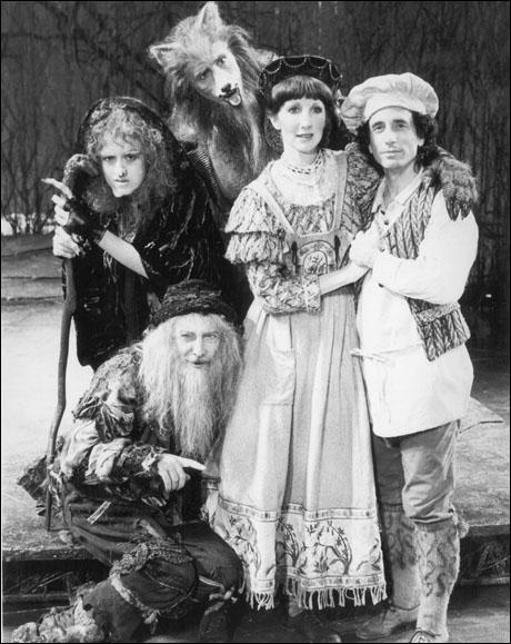 Bernadette Peters, Tom Aldredge, Robert Westenberg, Joanna Gleason and Chip Zien in the original Broadway production