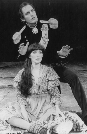 Robert Westenberg and Joanna Gleason in the original Broadway production