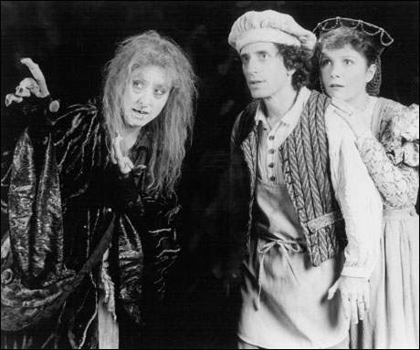 Betsy Joslyn, Chip Zien and Mary Gordon Murray in the original Broadway production