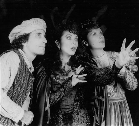 Chip Zien, Betsy Joslyn and Mary Gordon Murray in the original Broadway production
