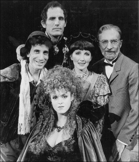 Chip Zien, Robert Westenberg, Bernadette Peters, Joanna Gleason and Tom Aldredge in the original Broadway production