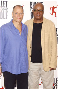 Woody Harrelson and Frankie Hyman