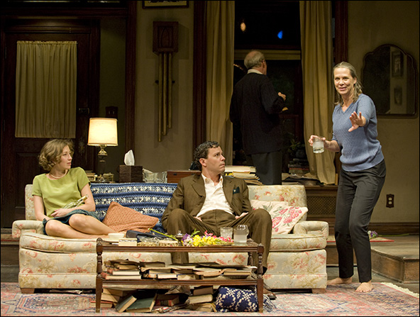 Carrie Coon, Madison Dirks, Tracy Letts and Amy Morton