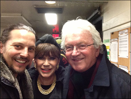 Leslie Bricusse and his beautiful wife, Yvonne Romain