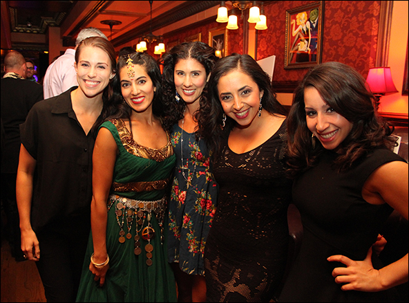 Kelsey Crouch, Monica Kapoor, Deanna Aguinaga, Sharone Sayegh and Natalie Gallo