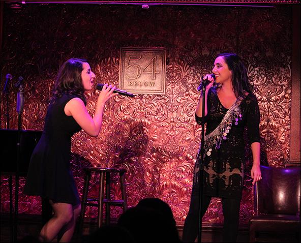 Natalie Gallo and Sharone Sayegh