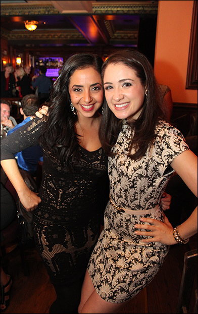 Sharone Sayegh and Allison Strong