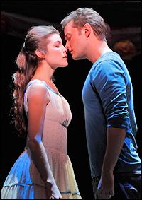 Josefina Scaglione and Matthew Hydzik