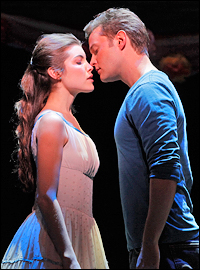 Broadway <I>West Side Story</i> stars Josefina Scaglione and Matthew Hydzik