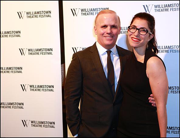 Scott Ellis and Jenny Gersten