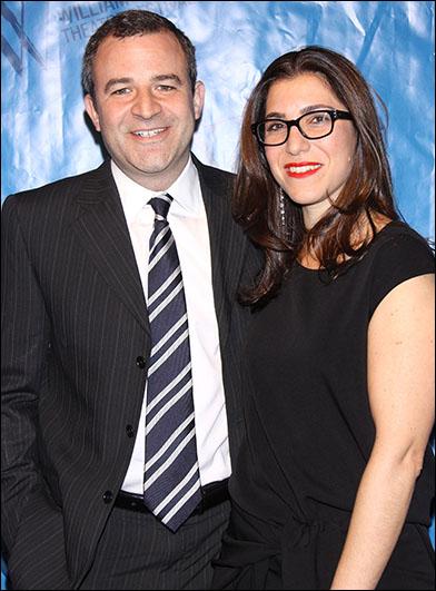 Matthew Harris and Jenny Gersten