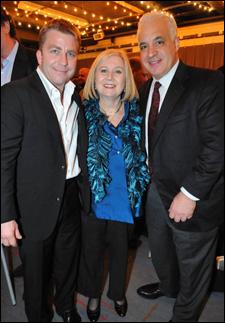 Peter Billingsley, Pat Addiss and Michael F. Mitri