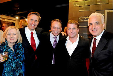 Pat Addiss, Gerald Goehring, Roy Miller, Peter Billingsley and Michael F. Mitri
