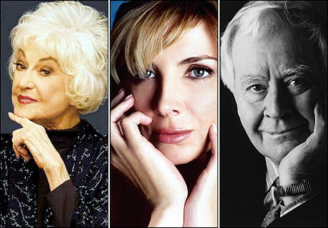 The stage suffered a number of losses this year; among them were actresses Bea Arthur and Natasha Richardson and playwright Horton Foote.