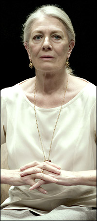 Vanessa Redgrave in  the Broadway production of <i>The Year of Magical Thinking</I>.