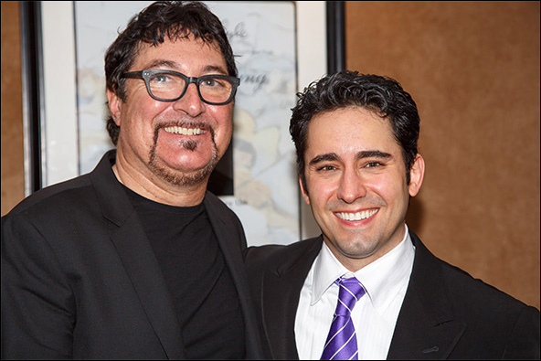 Tommy Faragher and John Lloyd Young