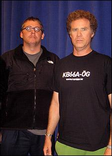 Adam McKay and Will Ferrell