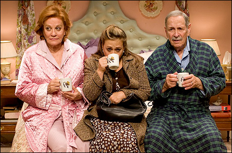 Photo call bedroom farce plays off broadway playbill for Farcical plays