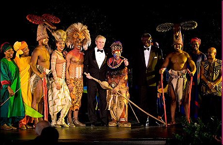 Photo Call The Lion King Performs At White House Dinner Playbill