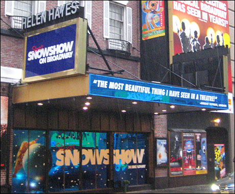 marquee value slava 39 s snowshow at the helen hayes theatre. Black Bedroom Furniture Sets. Home Design Ideas