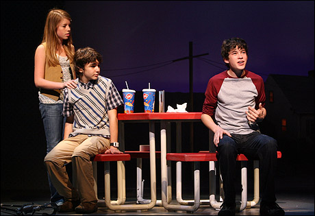 PHOTO CALL: Teens Take Broadway Stage in Brown's New ...