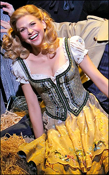 Sutton Foster roll in the hay